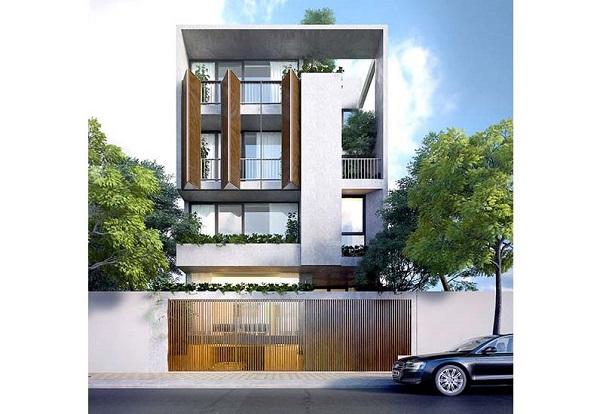 kiểu thiết kế nhà phố