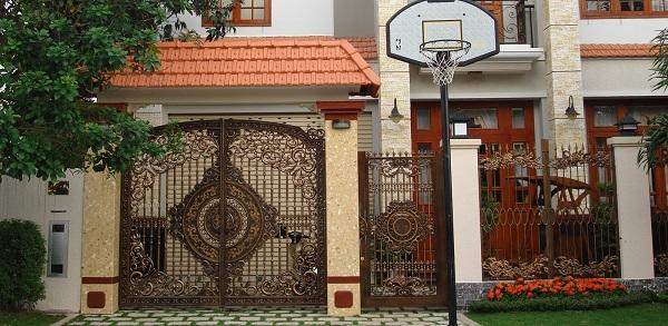 điều kiêng kỵ khi xây cổng nhà